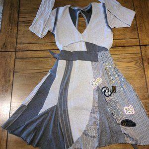 NWOT Desigual Soft Cotton Fit & Flare Dress